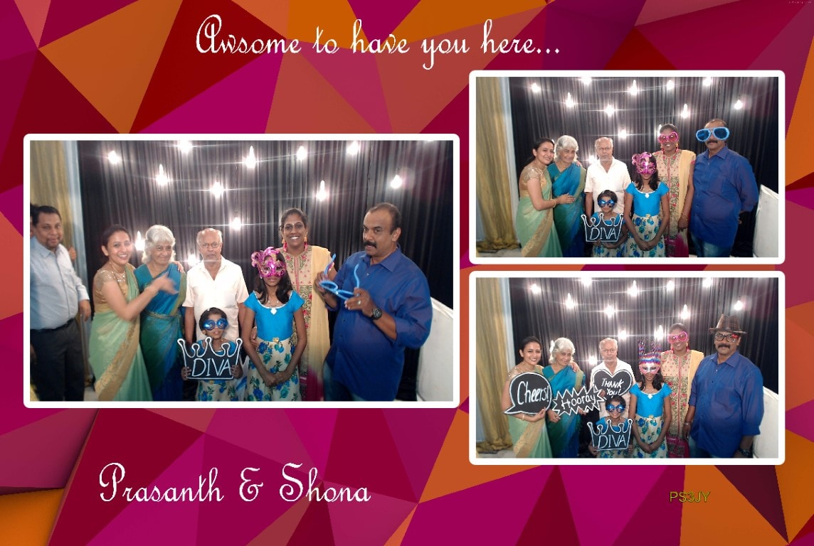 Photo booth For Wedding Reception In Erode