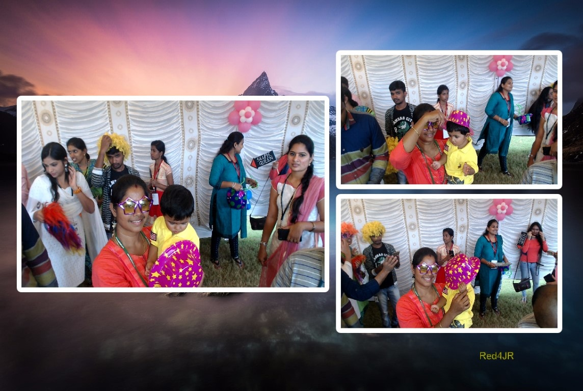 Innovative portable Photo booth in coimbatore
