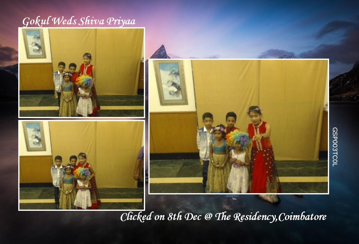Portable wedding photo booth in tiruppur